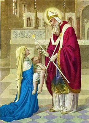 Benedizione e rito di S. Biagio